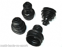 RS Cosworth 4wd Front CV Gaitor Boot Kit Complete FRONT Set inc Clips & Grease